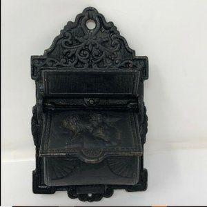 Vintage Cast Iron Venus & Cupid Fireplace Match